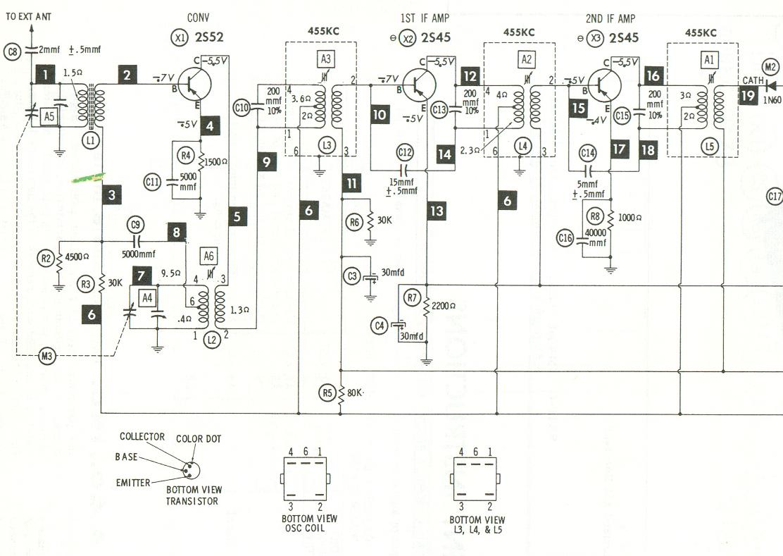 Fm Am Antenna Booster Circuit Schematic Diagram